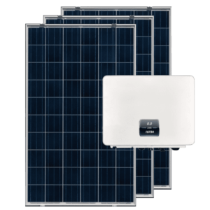 on grid solar panel with 1 phase inverter