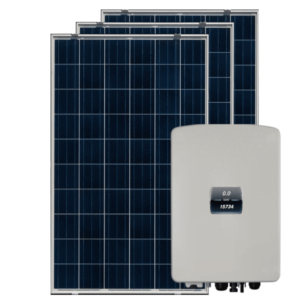 on grid solar panel with 3 phase inverter