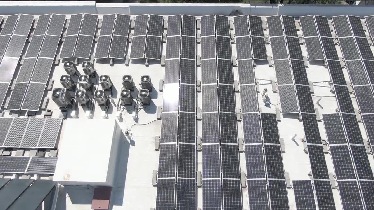 Commercial Rooftop Solar System