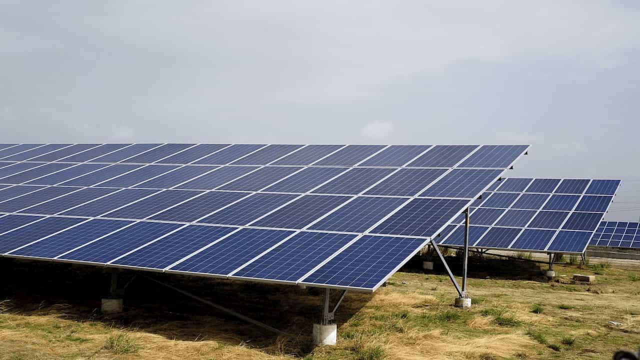 Ground Mounted Solar Power